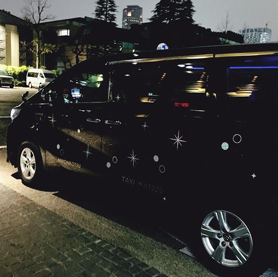 東京イルミネーションタクシー2017