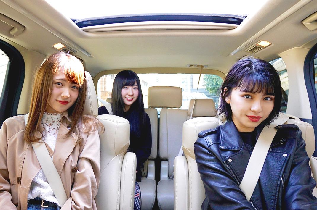 SUPER☆GiRLSの田中美麗さん・志村理佳さん・溝手るかさん