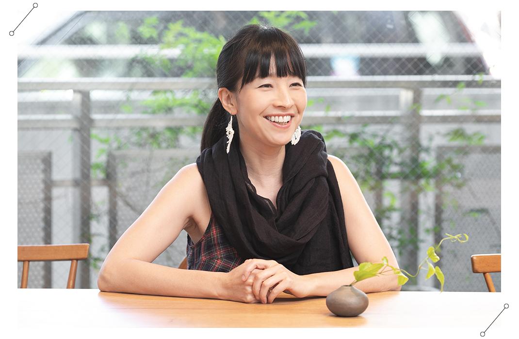 松本かおるさんインタビュー風景01