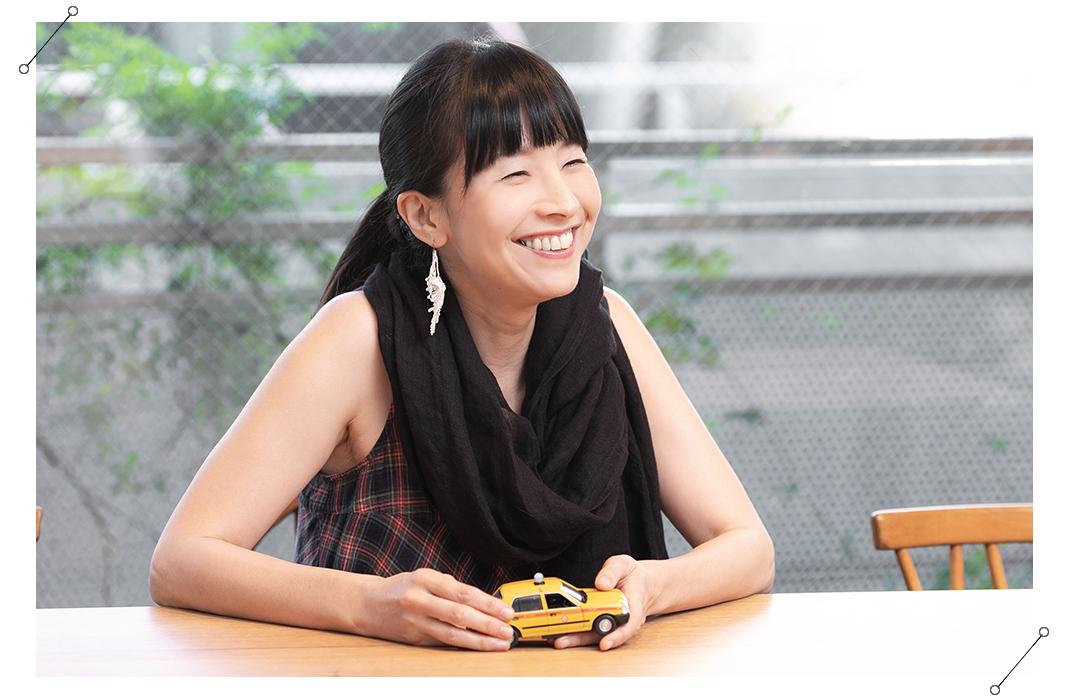 松本かおるさんインタビュー風景04