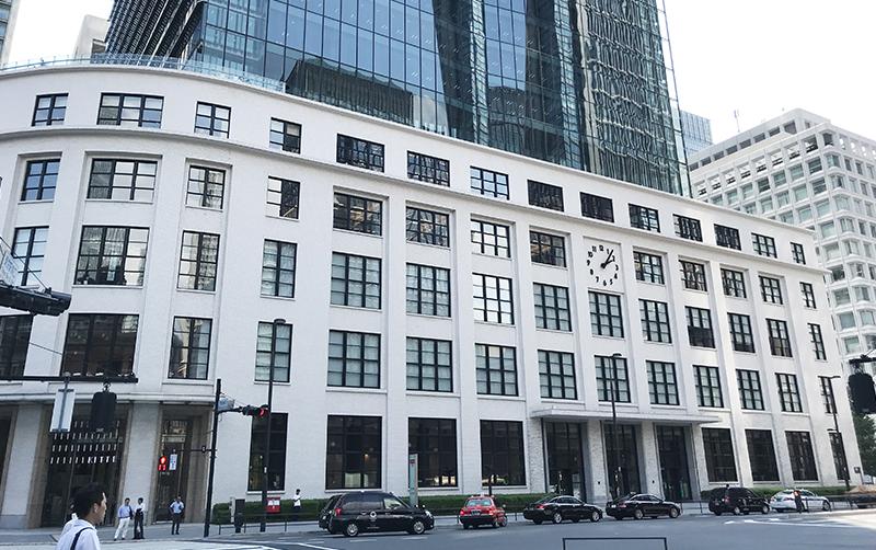 建築ツアー 東京中央郵便局とJPタワー。通称KITTE