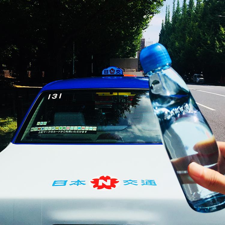 コソメシ #4 コソっと瓶ラムネ×復刻カラー特別仕様タクシー