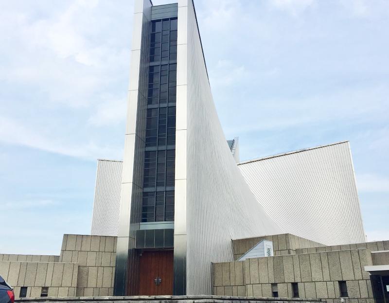 建築ツアー 東京カテドラル聖マリア大聖堂