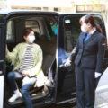 無料タクシーで、<br>移動にお困りの方をワクチン接種会場へ!